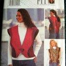 Butterick 3300 Sewing Pattern, Misses' Vest, Size D,E,F
