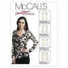 McCall's Patterns M6399 Misses' Tops, Size B5 (8-10-12-14-16)