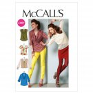 McCall Patterns M6604E50 Misses' Tops Sewing Pattern, Size E5 (4-16-18-20-22)