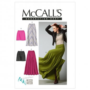 McCall Patterns M6608D50 Misses' Skirts Sewing Pattern, Size D5 (12-14-16-18-20)