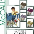 McCalls Craft Pattern M5124 Baby Grocery Cart Liner and Toys