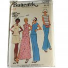 Butterick 1970s Sewing Pattern 3638 Misses Dress,Top,Skirt & Pants Size 14