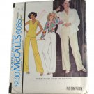 McCall's 6065 Sewing Pattern Misses Unlined Jacket,Top and Pants Size 14 Bust 36