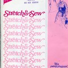 Stretch & Sew Pattern 1501 ~ Plus Size Basic Dress with Tab Front ~ Bust 42-56