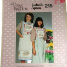 Daisy Kingdom Sewing Pattern 215 Isabelle Apron
