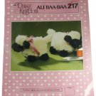 Daisy Kingdom Sewing Pattern 217 Ali Baa Baa Plush Figurine