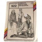 Stretch & Sew 922 Sewing Pattern Children's Pull-On and Stirrup Pants Sizes 22,24,26,28,30,32