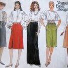 Vogue's Basic Design Pattern 1023 Misses' Skirts, Size 12-14-16