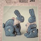 Country Rabbits SEWING PATTERN sitting & standing