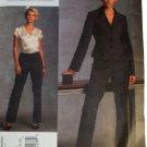 Vogue V1041 American Designer Anne Klein Misses Jacket and Pants Size EE 14,16,18,20