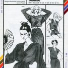 Stretch & Sew Pattern 1595 ~ Drop Shoulder / Cap Sleeve Dress, Blouse & Kimono Tunic ~ Bust 28-44