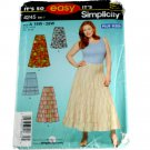 Simplicity Sewing Pattern 4245 Misses Skirt in Two Lengths Size 18W,20W,22W,24W.26W.28W