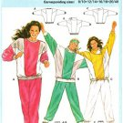 Burda 6409 - Workout Gear - Sweatpants and Sweatshirts - Sizes 8/10 - 20/40