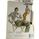 Kwik Sew 632 Sewing Pattern Mens Pants Size 30,32,34