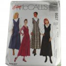 McCall's 9527 Sewing Pattern Misses Jumpers Size E 14,16,18