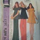 McCall's 3878 Misses Dress, Top & Pants Size 12