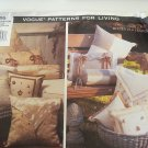 Vogue 1595 Patterns for Living Pillows