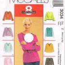 McCall's 8 Great Looks Blouses Size Z (Med-Lrg-Xlrg)