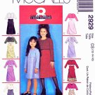 McCall's Pattern 2929 - Children's and Girls' Dress and Unlined Jacket - Size CH (7,8,10)