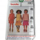 Burda 9888 Sewing Pattern Girls Ruffled Skirt Size 2,3,4,5,6
