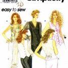 Simplicity 8802 Sewing Pattern Misses Blouse or Vest in Two Lengths Size H 6,8,10