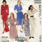 Easy McCall's Pattern 6477 Misses' Dress and Jumpsuit, Size A (8,10,12)