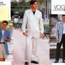 Vogue 1928 Sewing Pattern Mens Jacket Shorts & Pants Size 44,46,48
