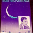 There's Frost on the Moon, Artie Shaw 1936