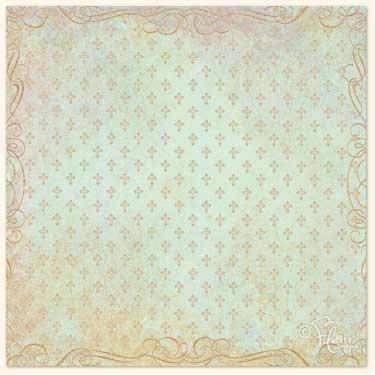 Amazing Grace Collection - Cross Print Aqua