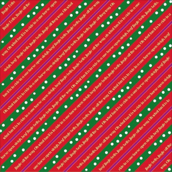 Holiday Stroll - Jingle Stripe - by Moxxie