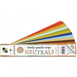 Adhesive Backed 2x12 Cardstock - Neutral