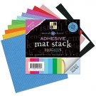 Adhesive Backed 6x6 Cardstock - Brights