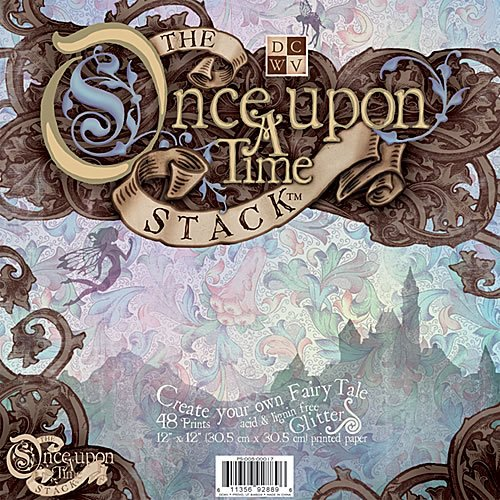 12x12 Glitter Paper Stack - Once Upon A Time