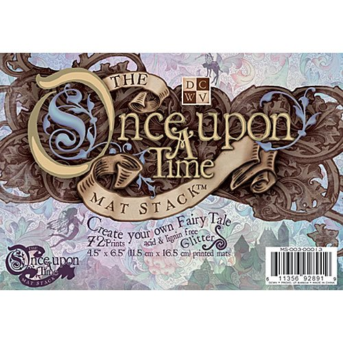4.5 x 6.5 Glitter Mat Stack - Once Upon A Time