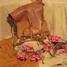 SOLD      Buckskin Handcrafted Purse (large)