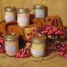 SOLD  Cantaloupe Bath Salts Jelly Jar -- SOLD
