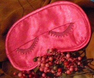 Hot Pink Eyelashes Eye Mask
