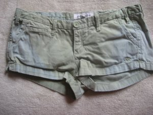 ABERCROMBIE CUTE GREEN BLUE FADE STRETCH SHORTS  14 L