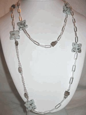 "Handmade ""JASPER"" Necklace"
