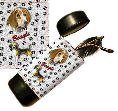 Beagle Eyeglass Or Sunglass Case