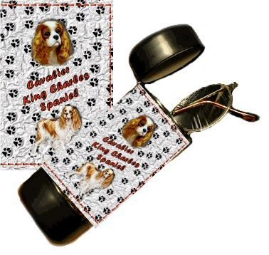 Cavalier King Charles Spaniel Eyeglass Or Sunglass Case