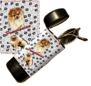 Pomeranian Eyeglass Or Sunglass Case