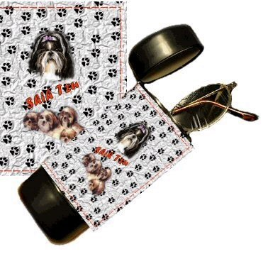 Shih Tzu Eyeglass Or Sunglass Case