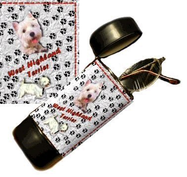 West Highland Terrier Eyeglass Or Sunglass Case