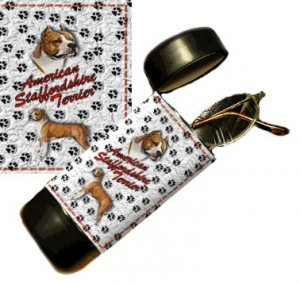 American Staffordshire Terrier Eyeglass Or Sunglass Case