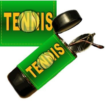 Tennis Eyeglass Or Sunglass Case