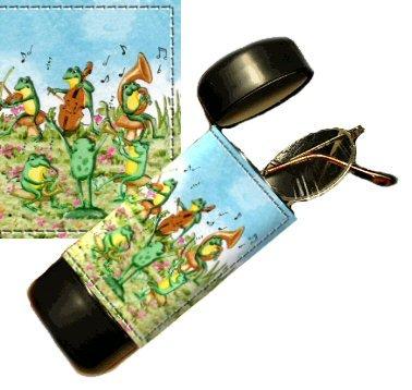 Frogs Eyeglass Or Sunglass Case