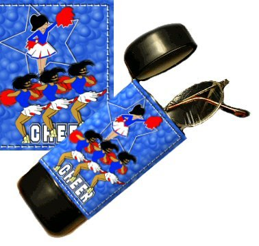 Cheering Flip Top Eyeglass / Sunglass Case