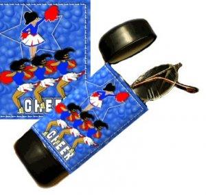 Cheering Flip Top Eyeglass / Sunglass Case