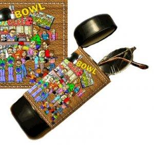 Bowler Flip Top Eyeglass / Sunglass Case